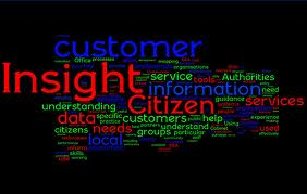 Customer insight wordle